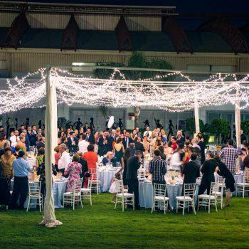 Celebraciób de boda en el Jardín Lateral