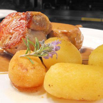 Cocina: ibérico con patatas risoladas