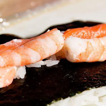 Sushi de gambas